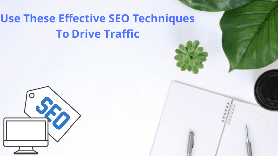 Use These Effective SEO Techniques To Drive Traffic